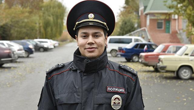 Участковый инспектор Отдела МВД по Советскому району, капитан полиции Энвер Аблямитов