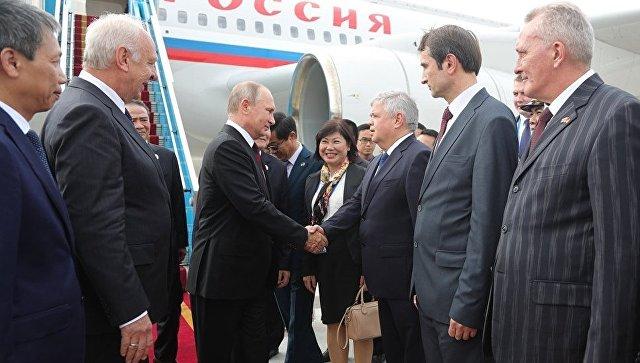 Визит президента РФ Владимира Путина во Вьетнам для участия в саммите АТЭС