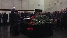 Церемония прощания с руководителем Крымского УФАС России Тимофея Кураева в Москве