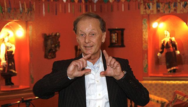 Михаил Задорнов на презентации первого проекта компании Задорнов создавакшн в ресторане ТИБЕТ