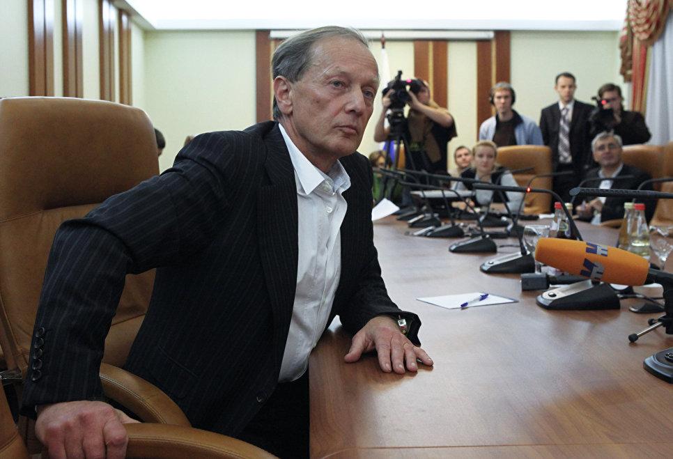 Встреча Сергея Миронова и Михаила Задорнова