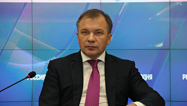 Министр экономического развития Республики Крым Андрей Мельников