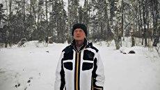 Скриншот с видеоролика Гарри Польского в YouTube Михаил Задорнов - Идут белые снеги