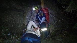 Женщина сорвалась с горы Кошка в Симеизе