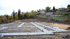 Строительство модульного детского сада в поселке Краснокаменка (Большая Ялта)
