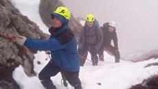 Спасатели помогли евпаторийцу, заблудившемуся в районе горы Чатыр-Даг в тумане