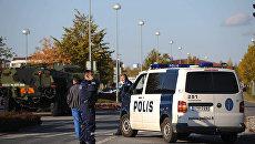 Автомобиль полиции в Финляндии. Архивное фото