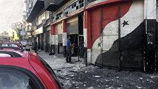 На месте взрыва в Дамаске, Сирия. Архивное фото