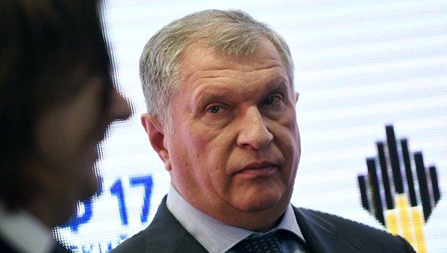 Главный исполнительный директорПАО НК Роснефть Игорь Сечин. Архивное фото