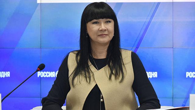 Генеральный директор Крымской государственной филармонии Олеся Костенко