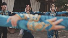 Скриншот видеоклипа крымско-татарского ансамбля Хайтарма на песню Машалла