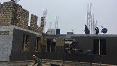 Строительство корпусов детского сада Березка в Симферополе