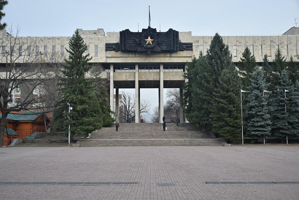 Музей боевой славы в Доме офицеров в Алма-Ате
