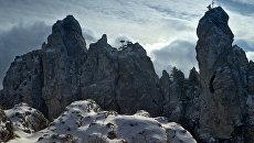 Снег на вершине Ай-Петри
