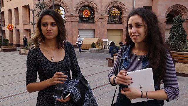 Армения: опрос по Крыму