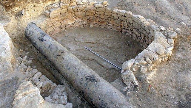 Раскопки сельской усадьбы времен Римской империи на месте строительства трассы Таврида