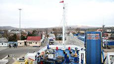 Керченская паромная переправа. Порт Крым