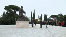 Торжественное открытие памятника Александру III в Ялте