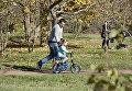 В парке им. Гагарина в Симферополе