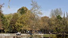 Осень в Симферополе. Парк им. Гагарина