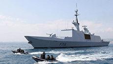 Фрегат ВМС Франции La Fayette