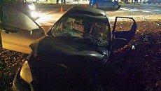 ДТП на трассе Симферополь-Ялта, в котором пострадали шесть человек