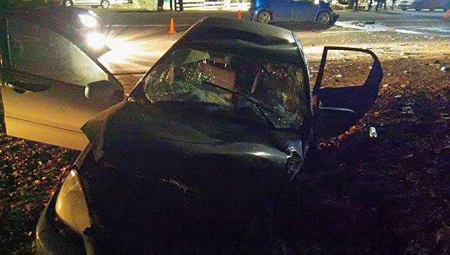 Ялта вКрыму: Шестеро пострадали вДТП натрассе Симферополь