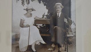 Фото Нины и Александра Грин 1927 года в Доме-музее писателя в Старом Крыму