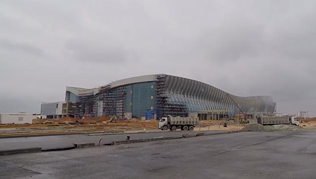 Строительство аэропорта в Симферополе