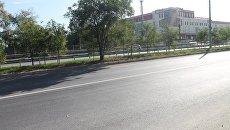 Отремонтированная в Симферополе дорога