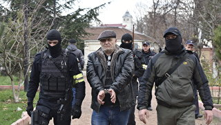 Задержание меджлисовцев в Симферополе. 23 ноября 2017