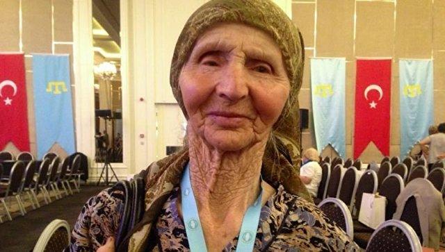Веджие Кашка, которая была посредником для получения взятки членам меджлиса (запрещен в России)