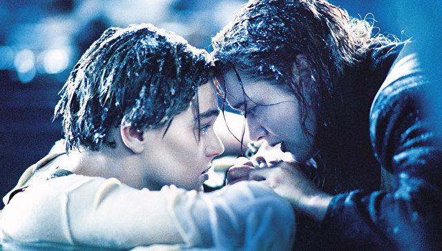 Кадр из фильма Титаник. Архивное фото