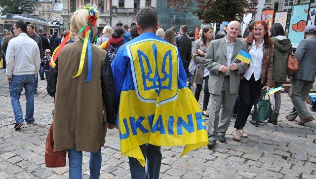 На улице Львова, Украина. Архивное фото