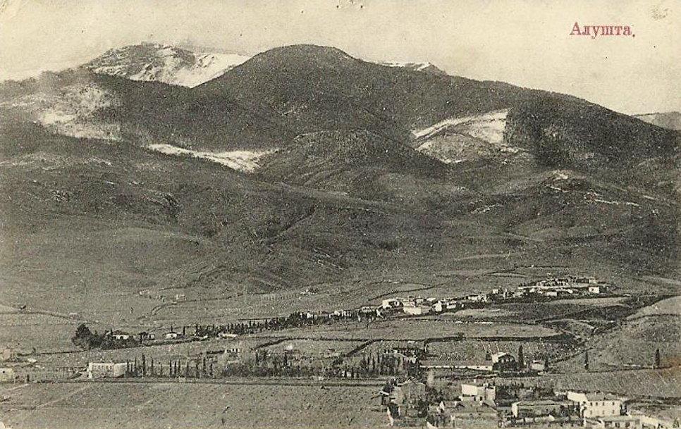 Алуштинская долина зимой