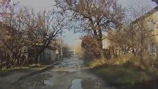 Состояние улицы Иртышской в Симферополе