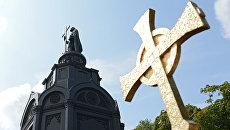 Памятника святому равноапостольному князю Владимиру на Владимирской горке в Киеве. Архивное фото