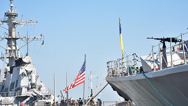Украинско-американские военные учения в Черном море. Архивное фото