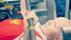 Иван Афанасьев - кандидат в мастера спорта по народному жиму Крымской ассоциации силовых видов спорта, чемпион Крыма