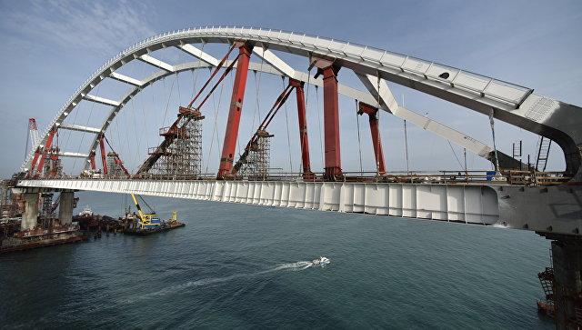 Арка моста через Керченский пролив