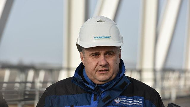 Начальник ФКУ Упрдор Тамань Роман Новиков