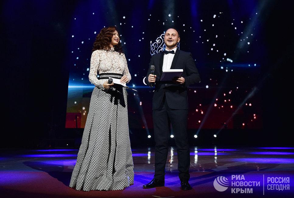 Ведущие национального конкурса красоты и материнства Миссис Крыма 2017