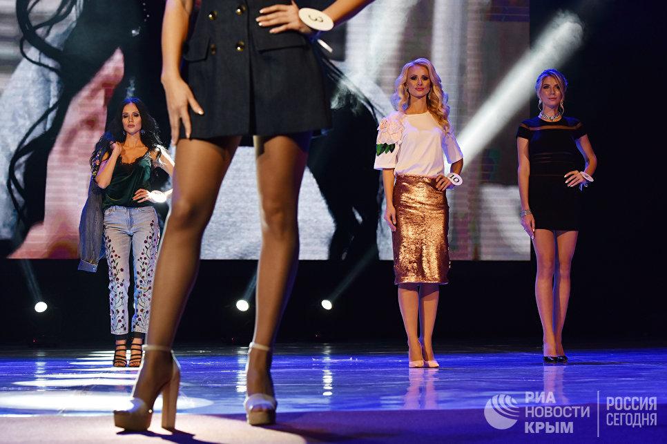 Участницы национального конкурса красоты и материнства Миссис Крыма 2017