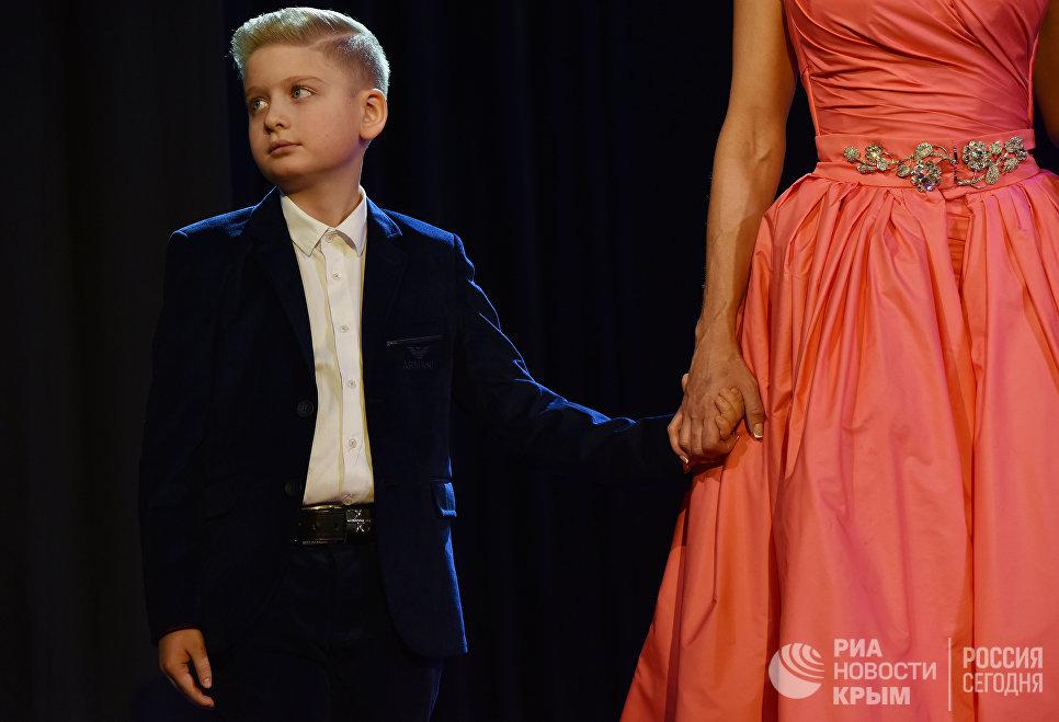 Ребенок участницы национального конкурса красоты и материнства Миссис Крыма 2017