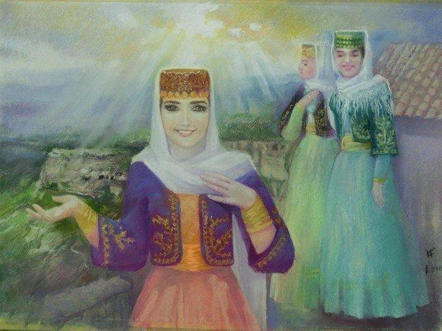 Орхидеи Джуфт-Кале (караимки), Татьяна Шевченко