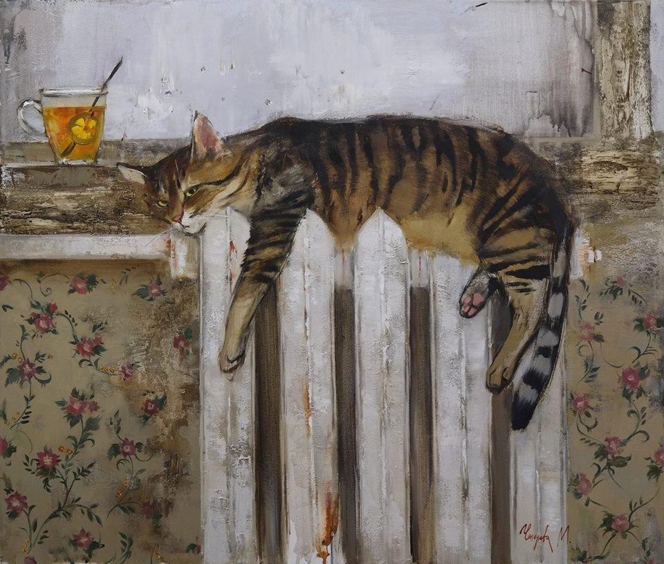 Кот на батарее, Мария Чепелева