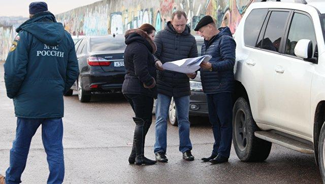 Всплывший вСевастопольской бухте газопровод подвергнут затоплению