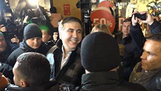 Мы победим – Саакашвили выступил перед сторонниками после освобождения