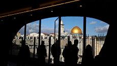 Вид на старый город Иерусалима