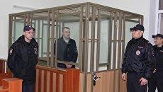 Серийный маньяк из Севастополя во время оглашения приговора в зале заседания суда